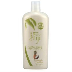 Organic Fiji Virgin Coconut Oil Pineapple - 12 fl oz