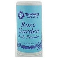 Wise Ways - Rose Garden Body Powder - 3 oz.