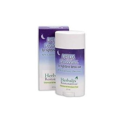 Herbalix Restoratives - Detox Deodorant For Nighttime Detox Use - 2.5 oz.