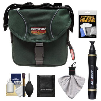 Tamrac 5210 Explorer 10 Digital SLR Camera Bag Case (Forest Green) with Lenspen + Cleaning Accessory Kit