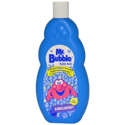 Bubble Bath Bubbleberry Kids Bubble Bath by Mr. Bubble, 16 Ounce