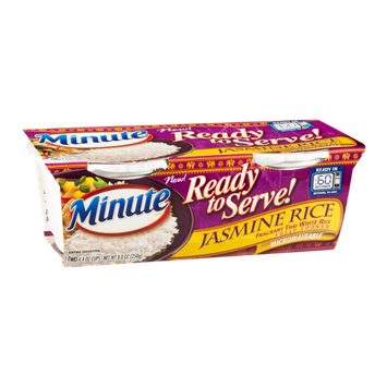 Minute Ready to Serve Jasmine Rice - 2 CT