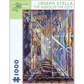 Pomegranate Communications Joseph Stella The Voice of the City Puzzle 1000 Pcs Ages 12+, 1 ea
