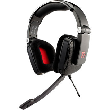 Thermaltake Tt eSports Shock Gaming Headset - 40mm Drivers, In-Line Sound Control, Adjustable Headband, Noise Cancelling