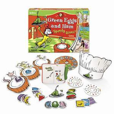 I Can Do That Games Green Eggs & Ham Speedy Diner Ages 4-8, 1 ea