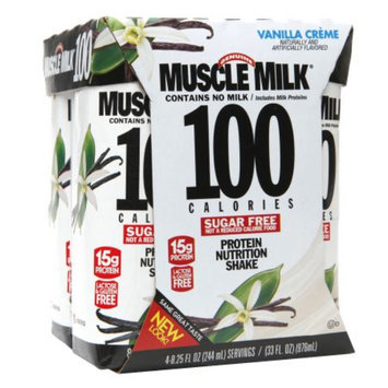 Muscle Milk Vanilla Creme Protein Nutrition Shake - 33 oz