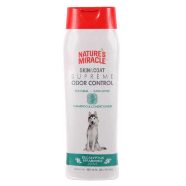 Nature's Miracle NATURE'S MIRACLETM Eucalyptus Spearmint Scented Dog Shampoo & Conditioner