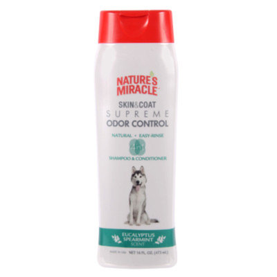 Nature's Miracle® Eucalyptus Spearmint Scented Dog Shampoo And Conditioner