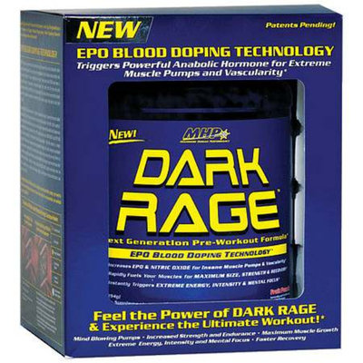MHP Dark Rage Pre-Workout Supplement Powder