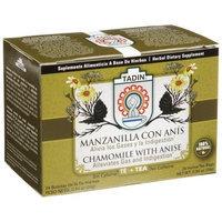 Tadin Herb and Tea Tadin Tea, Manzanilla/Anis (Chamomile with Anisse) Tea, 24-Count Tea Bags (Pack of 12)