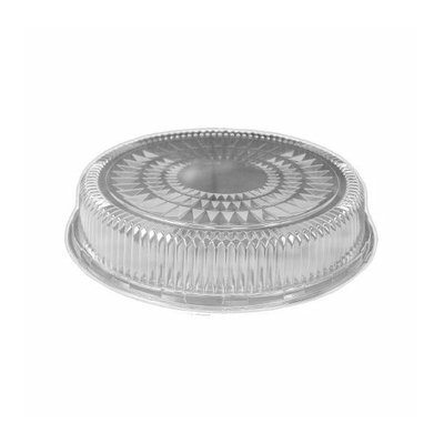 HANDI-FOIL 18'' Plastic Dome Embossed Round Lid
