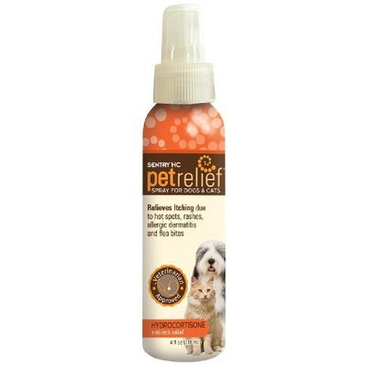 Sentry HC Pet Relief Hydrocortisone Spray, 4-Ounce