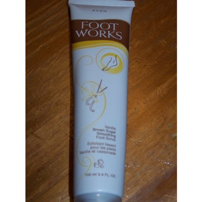 Avon Foot Works Vanilla Brown Sugar Foot Scrub 3.4oz.