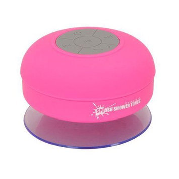 Mocreo Splash Shower Tunes Waterproof Bluetooth Wireless Shower Portable Speaker - Pink