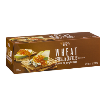 Simply Enjoy Wheat Specialty Crackers