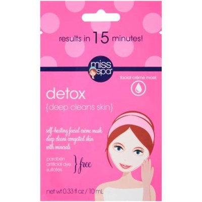 Placeholder Miss Spa Facial Creme Mask Detox, 0.33 fl oz
