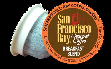 San Francisco Bay Premium Gourmet Coffee Breakfast Blend - 12 K-Cups