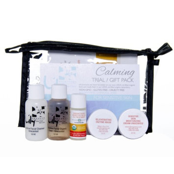 Lily Farm Fresh Skin Care 5 Piece Trial / Gift Pack, Calming for Sensitive Skin, 1 set