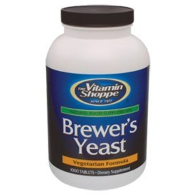 The Vitamin Shoppe  Vitamin Shoppe - Brewer's Yeast, 1000 tablets