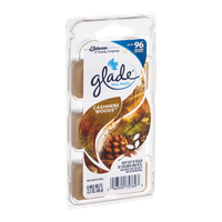 Glade Wax Melts Cashmere Woods - 6 CT