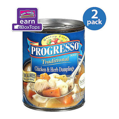 Progresso: Chicken & Herb Dumplings Soup Traditional