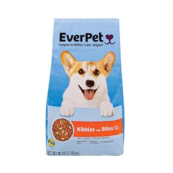 Everpet EverPet Kibbles & Bites Dry Dog Food, 3 lb