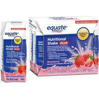 Equate Strawberry Nutritional Shake Plus
