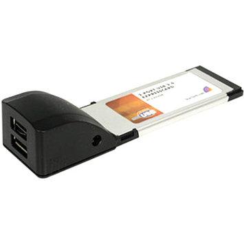 StarTech.com 2 Port ExpressCard Laptop USB 2.0 Adapter Card - USB adapter - ExpressCard - USB 2.0 x 2
