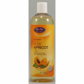 Life-Flo Health Care Pure Apricot Oil 16 oz