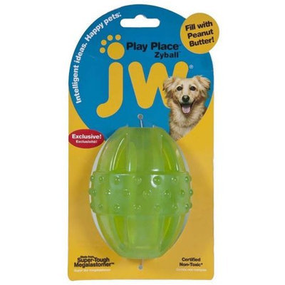 Doskocil Manfuacturing Company JW Play Place Zyball Dog Toy Small