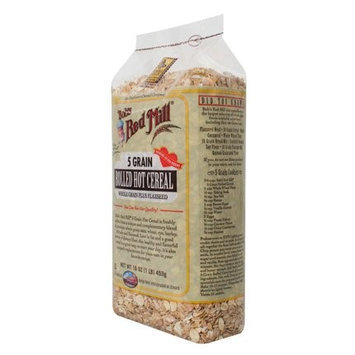 Bob's Red Mill Bobs Red Mill BG11064 Bobs Red Mill 5 Grain Rolled Cereal - 1x25LB