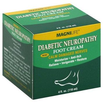 MAGNI LIFE MagniLife Diabetic Neuropathy Foot Cream 4 fl oz (118 ml)