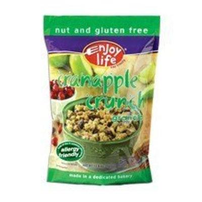 Enjoy Life Cereal, Cranapple Crunch Granola Case of 6, 12.8oz Each 6 Foods