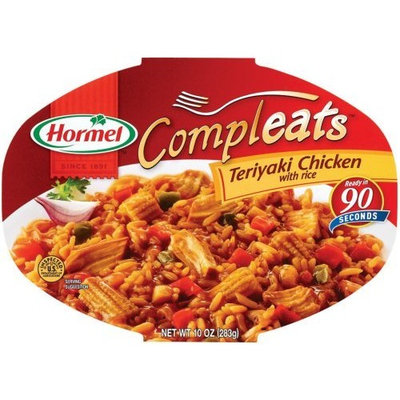 Hormel Compleats Teriyaki Chicken With Rice