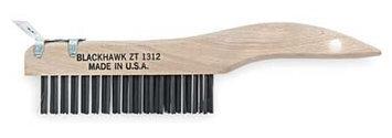 BLACKHAWK BY PROTO ZT-1312 Curved Scratch Brush with Scraper