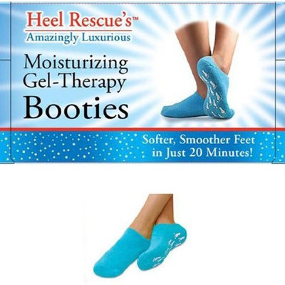 Gel Booties Moisturizing Gel-Therapy Booties 3 PAIRS INCLUDED