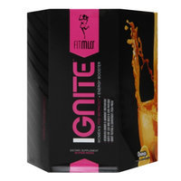 FitMiss Ignite Women's Pre-Workout + Energy Booster Orange