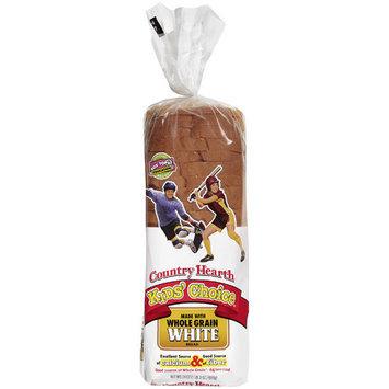 Country Health Country Hearth Kids' Choice Whole Grain White Bread, 24 oz