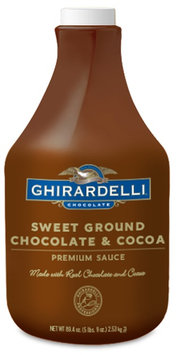 Ghirardelli Chocolate Sweet Ground Chocolate & Cocoa Flavored Sauce