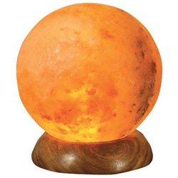 Ancient Secrets Himalayan Natural Rock Sphere Salt Lamps 219640