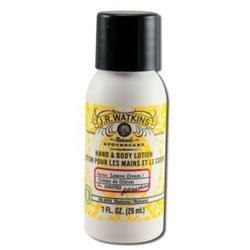 J.R. Watkins - Lemon Cream Hand & Body Lotion 1 oz