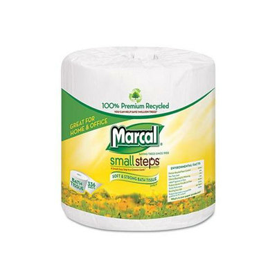 Marcal 100% Premium Recycled 2-Ply Embossed Toilet Tissue