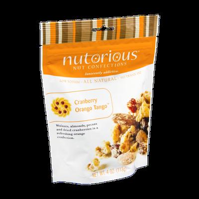 Nutorious Cranberry Orange Tango Nut Confections