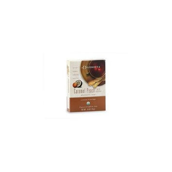 Davidson's Davidson Organic Tea 2093 Caramel Peach Wcoconut Tea, Box of 8