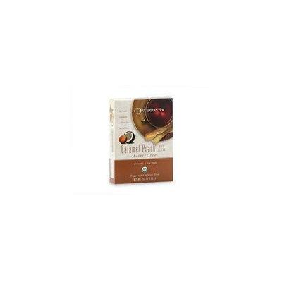 Davidson's Davidson Organic Tea 2093 Caramel Peach Wcoconut Tea, Box of 8