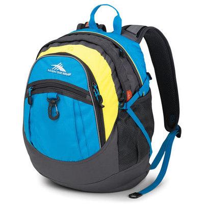 High Sierra Sport Fat Boy Backpack-Blue/Yellow, Blue/Yellow