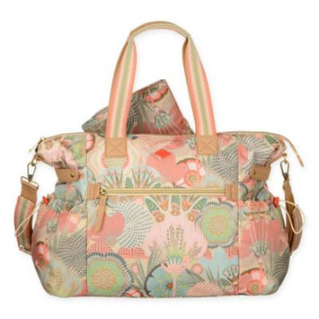 Oilily Spiro Flower Baby Bag Peach Rose