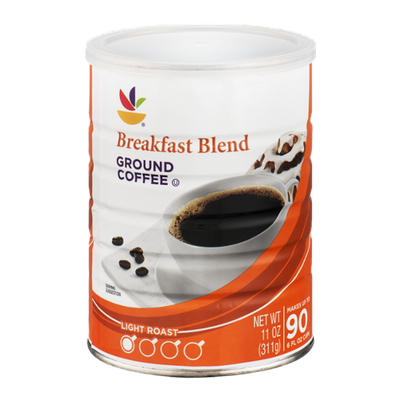 Ahold Breakfast Blend Ground Coffee Light Roast