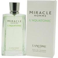 Lancôme MIRACLE L'AQUATONIC by Lancôme EDT SPRAY 4.2 OZ for MEN