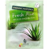 Naisture 15 Min. Collagen Essence Facial Mask Pack - Fresh Aloe 10pk (e 23ml)